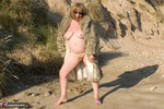 SpeedyBee. Fur Coat On The Beach Free Pic 5