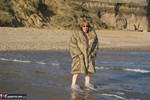 SpeedyBee. Fur Coat On The Beach Free Pic 20