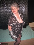 GirdleGoddess. Long Silver Gloves Free Pic 1