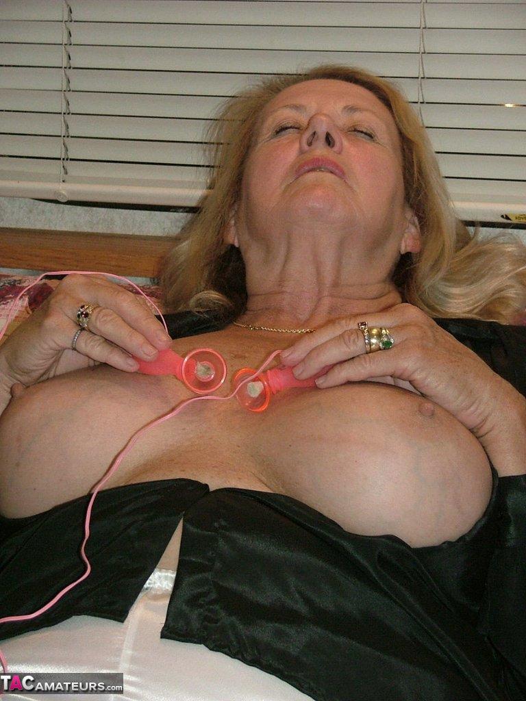 Satin PJ's & Nipple Clamps Free Pic 2 ...