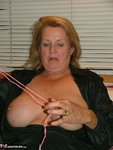 Adonna. Satin PJ's & Nipple Clamps Free Pic 13