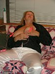 Adonna. Satin PJ's & Nipple Clamps Free Pic 17