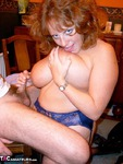 CurvyClaire. A day at the office Free Pic 13