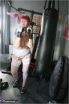 ValGasmic Exposed. Working Out Free Pic 2
