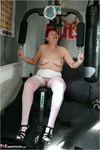 ValGasmic Exposed. Working Out Free Pic 12