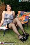 DeniseDavies. Naughty in the Garden Free Pic 1