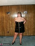 ThickChick. Black Dress  Free Pic 1