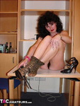 GermanIsabel. Leopard Tights Free Pic 10