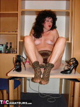 GermanIsabel. Leopard Tights Free Pic