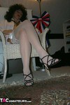 GermanIsabel. White Stockings Free Pic 5