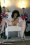 GermanIsabel. White Stockings Free Pic 14