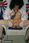 GermanIsabel. White Stockings Free Pic 17