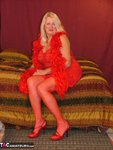 Adonna. Luscious lady in red Free Pic