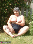 GrandmaLibby. Too hot to keep your clothes on.. Free Pic