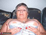 GrandmaLibby. Busty in a basque Free Pic 2