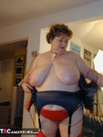 Chris44G. Red Waspie & Stockings 1 Free Pic 17