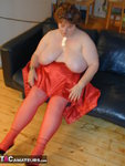 Chris44G. Red Waspie & Stockings 1 Free Pic