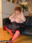 Chris44G. Red Waspie & Stockings 1 Free Pic 20