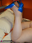 Chris44G. New Blue High Heel Shoes 2 Free Pic