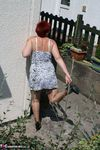 ValgasmicExposed. Spotty Dress Free Pic 8