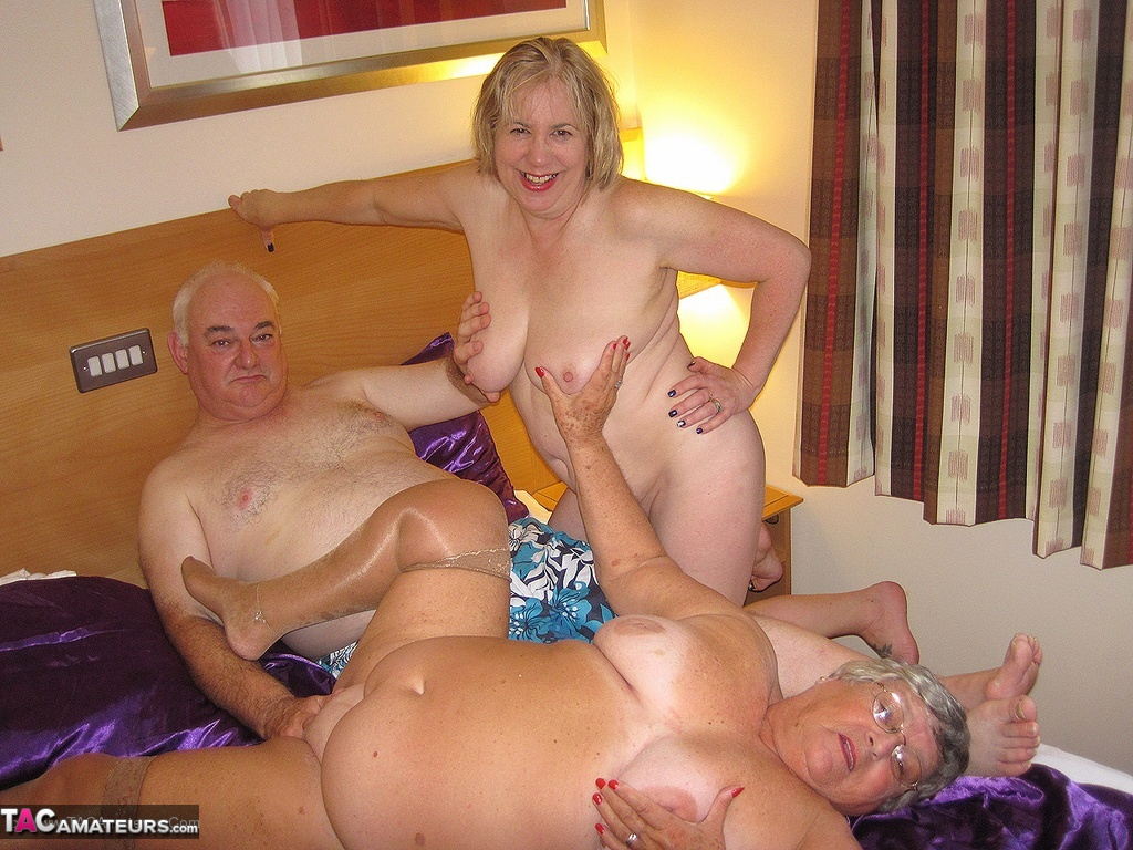 Grandma gets fucked porn