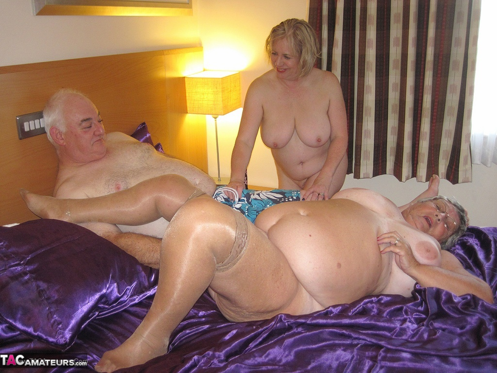Agedlove hot grandma fucking with horny youngster 3