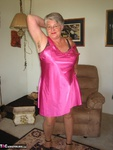 GirdleGoddess. Pretty In Pink Satin Free Pic 2