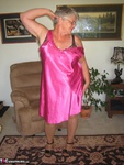 GirdleGoddess. Pretty In Pink Satin Free Pic 3