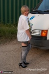SpeedyBee. Skool Girl Speedy Flashing By The Skool  Free Pic 16