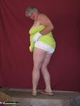 Girdle Goddess. Green Sun Dress Free Pic 6