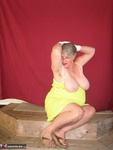 GirdleGoddess. Green Sun Dress Free Pic