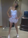 Angels18atlast. White Dolly & Handcuffs Free Pic 1