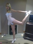 Angels18atlast. White Dolly & Handcuffs Free Pic