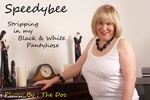 SpeedyBee. Stripping In My Black & White Tights Free Pic 1