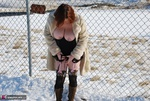 MishaMILF. Winter In The Park Free Pic 11