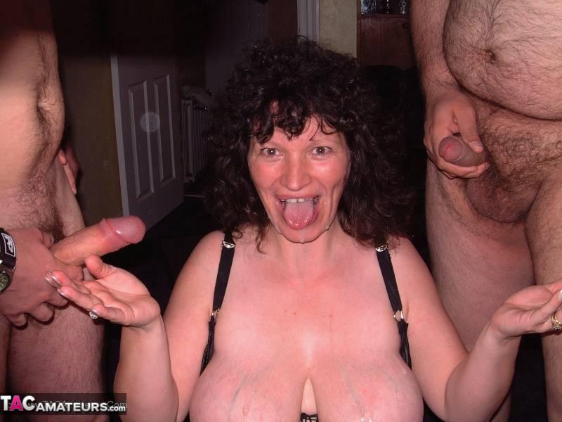 amatør bukkake porno