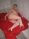 Girdle Goddess. Red & White Free Pic 20