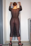 FemmeFatale. Black Net Dress Free Pic 3
