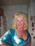 Ruth. Beautiful In Blue Glitter Free Pic 4