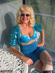 Ruth. Beautiful In Blue Glitter Free Pic 11