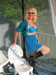 Ruth. Beautiful In Blue Glitter Free Pic 15