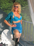 Ruth. Beautiful In Blue Glitter Free Pic 17