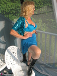 Ruth. Beautiful In Blue Glitter Free Pic 18