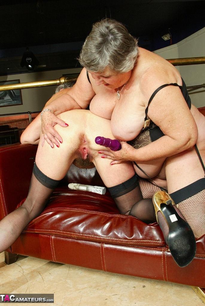 British slut alex in ff stockings - 3 4
