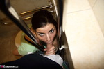 POVStation. Jane Black In The Public Toilet Free Pic