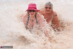 SpeedyBee. Speedy Bee & Libby Playing In The Sea Free Pic 18