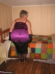 Girdle Goddess. Sexy Purple Girdle Free Pic 7