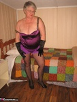 Girdle Goddess. Sexy Purple Girdle Free Pic 8