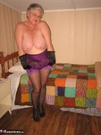 Girdle Goddess. Sexy Purple Girdle Free Pic 11