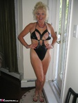 Ruth. Black Daring Swimsuit Free Pic